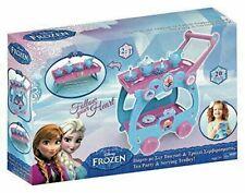 Frozen Disney 2 in 1 Princess Tea Tray Party Pretend Play Trolley Kids Girls
