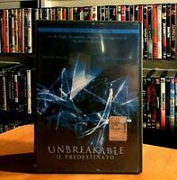 Unbreakable Il Predestinato 2000 BRUCE WILLIS Collector's Edition DVD COME NUOVO