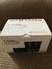Samyang 85mm f/1.4 AS IF UMC MEDIUM TELE LENS #SY85M-S A-Mount