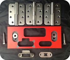 Jaxan Door Hinge Jig and Latch Jig, *Watch Demo* for a professional finish