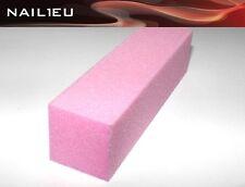 Lima Buffer ROSA grano 120 , 95/25/25mm / tampón de pulir BLOQUE pulido