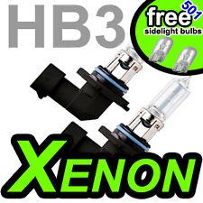 Hb3 100w Xenon Off Road Faros coche bombillas Blanco Qty 2