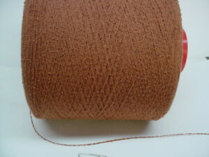 SALE Harvest 2000 ypp Textured Poly Boucle Cone Yarn~ 3.5 - 3.7 lbs