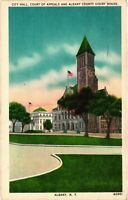 Vintage Postcard - 1960 City Hall Court Of Appeals Albany New York NY #4235