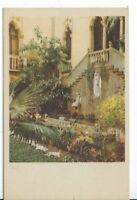 CG-014 MA, Boston Isabella Stewart Gardner Museum Court Divided Back Postcard