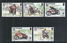 Isle of Man 1991 Tourist Trophy Anniv-Attractive Sports Topical (472-76) Mnh