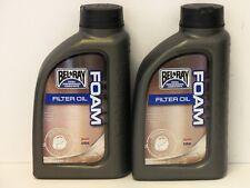 11,75€/l Bel-Ray Luftfilter Öl 2 x 1 Ltr Foam Filter Oil