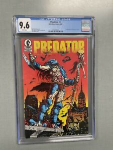 PREDATOR #1 CGC GRADED 9.6 WHITE PAGES 1989 1ST APPEARANCE OF PREDATOR
