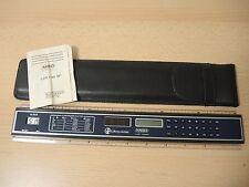 MBO LCR 135 SP righello Calculator calcolatrice + istruzioni, anni 80er, NUOVO