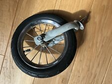 Graco Fast action Click & Go Stroller Replacement  Front WHEEL W/ Forks Parts
