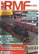 RMF N°580 RESEAU : ESELBRUCK / RAME D'ACCOMPAGNEMENT DE GIROBROYEUR / X 73500