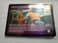 WWE Raw Deal SS3 HELL IN A CELL MATCH FOIL CARD