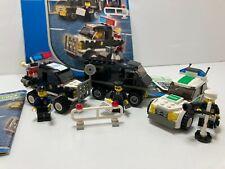 LEGO World City - Police 4WD, Undercover Van & Police Car (7032 + 7236) Vintage