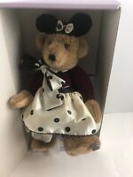 Annette Funicello Teddy Bear Bubbles Bath Collectors Plush Bear With Kitten Coa Annette Funicello