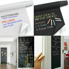 6.6 FT Large Chalkboard Wall Stickers Vinyl Decals Board Writing Wallpaper NEW