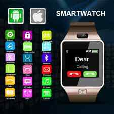 New Smartwatch Intelligent Digital Sport Gold DZ09 Pedometer For Phone Android