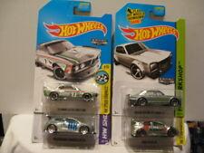 HOT WHEELS BASIC ZAMACS NISSAN SKYLINE, FORD FOCUS RS, VW SCIROCCO, BMW CSL