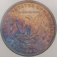 1885-P USA MORGAN SILVER DOLLAR TONED GEM CHOICE COLOR FLAWLESS BU UNC (DR)