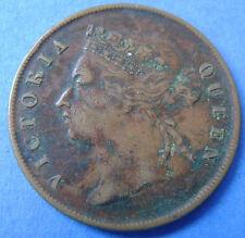 Straits Settlements   1 cent one cent 1901 Queen Victoria KM# 16