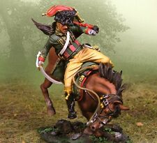 THE COLLECTORS SHOWCASE FRENCH NAPOLEONIC CS00409 CHASSEUR WOUNDED MIB