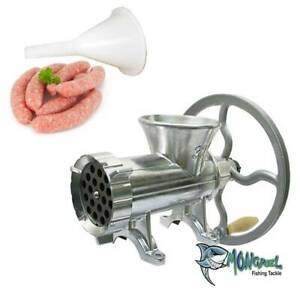New MM32 Meat Mincer with Wheel and Sausage End Sausage Maker Meat Grinder
