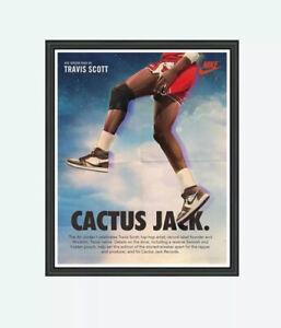 Travis Scott Cactus Jack Nike Poster Unframed 13 x 19