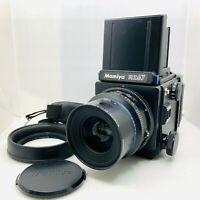 [NEAR MINT]  Mamiya RZ67 Pro + Sekor Z 90mm f3.5 W 120 Film Back from Japan 898