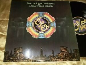 Electric Light Orchestra, A New World Record, 12-inch vinyl LP 33rpm Made in USA