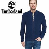 Timberland Milford Cotton Men's Full Zip Top Jacket Sweat Jumper Cardigan