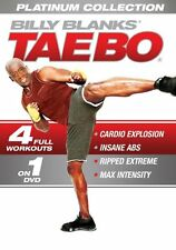 Billy Blanks Tae Bo Kickboxing - TAE BO PLATINUM COLLECTION - 4 Full Workouts!
