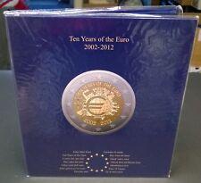 Euro muntalbum Presso van Leuchtturm 10 jaar Euro 2012 art nr 341622