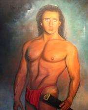 Adonis - Original painting by Teri Rizzutti