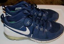Nike Training Flywire Navy Blue - White Running Cross Training Shoes Size 14