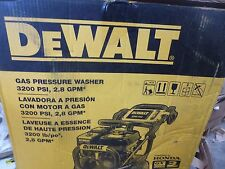DeWalt Gas Pressure Washer, Cold Water Type, 3200psi, 2.8Gpm,