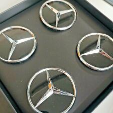 Original Mercedes AMG GL C 43 Nabendeckel, schwarz/silberfarben, passt für X 253