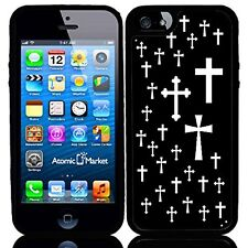 Religious Crosses Black And White For Iphone 6 Case Cover