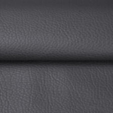 1/3/5 Yards Solid Faux Leather Fabric Upholstery Pleather Marine Vinyl  54