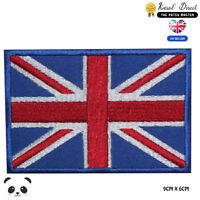 United Kingdom National Flag Embroidered Iron On Sew On Patch Badge