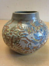 Vintage Signed Mid Century Studio Pottery Pot Vase signed TF - Tessa Fuchs?