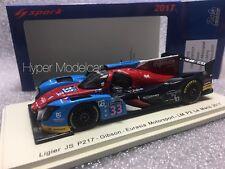 Spark 1/43 Ligier JS P217 Gibson Team Eurasia #33 24h Le Mans 2017 Art S5819