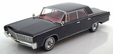 1965 Chrysler Imperial Crown 4-Door Black by BoS Models LE of 1000 1/18 Scale