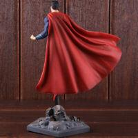 DC Super Man Figure Justice League Superman Action Figure PVC Toy Santa Gift