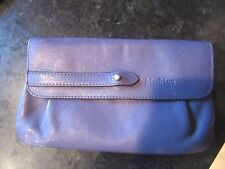 """Purple Leather Small MAX MARA  Leather Clutch Envelope Bag 8"""" x 5"""""""