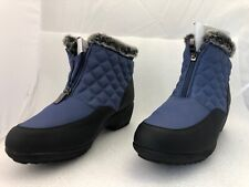 WEATHERPROOF Quilted Boots Grace Navy Size 10M