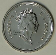 2000 W Canada Proof-Like Winnipeg 25 Cents