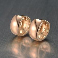 New 18k Women Yellow Gold Filled Cute Earrings GF 11mm Mini Hoop Fashion Jewelry