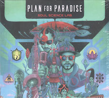 Plan for Paradise by Soul Science Lab (CD, 2016 SSL) Asante Amin/Chen Lo/Sealed