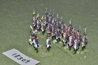 25mm napoleonic / french - infantry 21 figs - inf (18309)