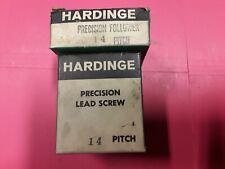 Hardinge 14 Pitch Lead Screw Amp Follower Hc Chucker New