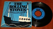 """THE ROLLING STONES SYMPATHY FOR THE DEVIL 7"""" VINYL *RARE* RADIO PRESS DECCA 1973"""